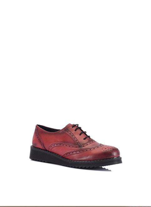 Beta %100 Deri Klasik Ayakkabı Bordo